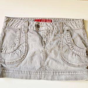 Vintage guess miniskirt grey